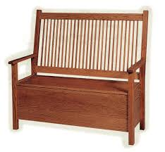 mission deacon u0027s bench with storage from dutchcrafters amish furniture