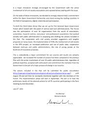 Letter Of Intent For Business Partnership Template by Italy Open Government Partnership
