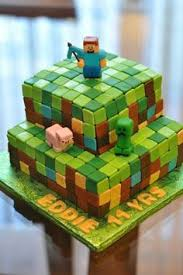 Birthday Cakes Images How To Make A Minecraft Birthday Cake