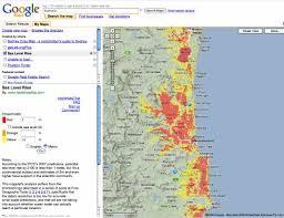 Australia Population Map Tsunami Hazard To Coastal Populations