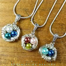 mothers day birthstone jewelry s day birthstone bird nest custom personalized wire