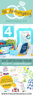 4 year anniversary gift ideas for 4th anniversary gift for him 4 year anniversary fourth wedding
