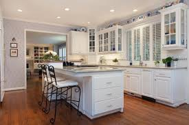 traditional colonial kitchen and living room fraley and company