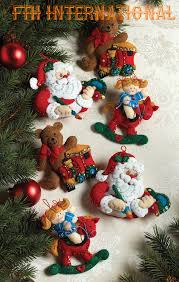 12 days of christmas bucilla felt ornament kit 86066 fth studio
