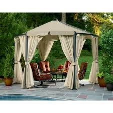 Pergola Gazebo With Adjustable Canopy by Garden Oasis Gfm00330f Stargazer Gazebo Sears Outlet