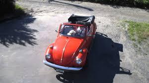 1979 vw volkswagen beetle convertible 1979 vw convertible bug youtube