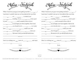 bridal mad libs free wedding mad libs printable the blue sky papers
