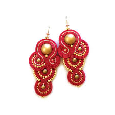 soutache earrings statement earrings soutache earrings sabo design