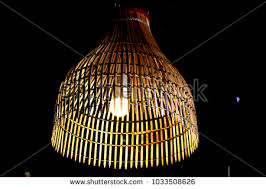 Bamboo Ceiling Light Bamboo Ceiling Light Stock Images Royalty Free Images Vectors