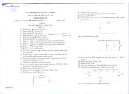 circuit theory question bank all units vidyarthiplus v