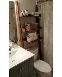 Bathroom Storage Ladder Bargains On The Toilet Ladder Shelf Choose Color