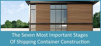 The Seven Most Important Stages of Shipping Container Construction