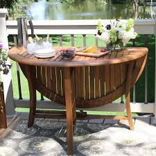 Wood Patio Dining Table by Shop Patio Tables At Lowes Com