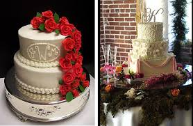 how to incorporate your bridal style in your wedding cake the