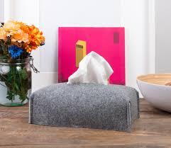 gift tissue tissue box cover rectangular fabric tissue box holder felt