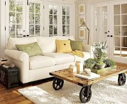 french country cottage decorating ideas display coffee table floor