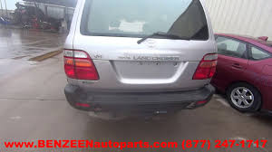 parting out 1999 toyota land cruiser stock 7124yl tls auto