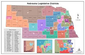 Nebraska On A Map Nebraska Legislature Maps Clearinghouse