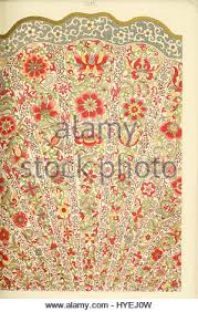 owen jones exles of ornament 1867 plate 080 stock photo