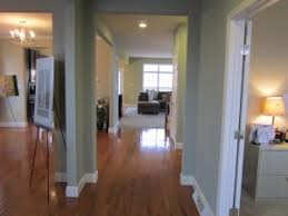 great sightlines in the hallway featuring sherwin williams