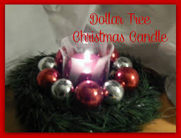 dollar tree christmas candle the barnprincess