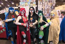 Best Costumes Phoenix Comicon 2017 Best Costumes Cosplay Characters Phoenix