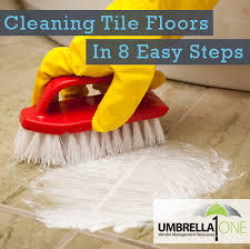 how to clean tile floors in 8 simple steps umbrella one
