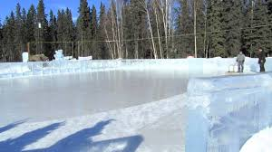 time lapse ice park ice rink resurfacing youtube