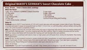 a cake bakes in brooklyn german chocolate cake