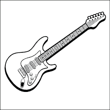 large guitar coloring page guitar coloring page guitar coloring page good acoustic pages to