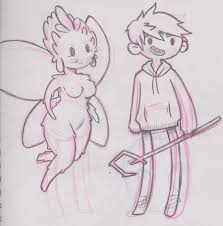 jack frost and tooth sketch by grekabekiss on deviantart