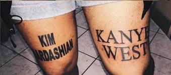 die hard fan gets kim kardashian and kanye west tattoos on his