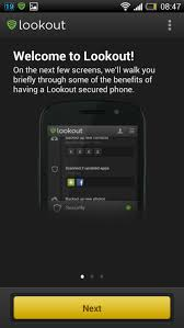 lookout android lookout android app check our review of the app