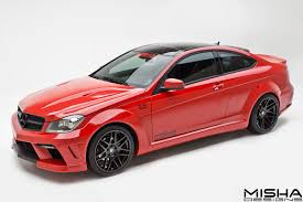 mercedes c class coupe tuning official mercedes c class coupe by misha designs gtspirit