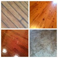 what are the most common types of flooring install