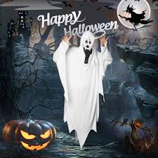 1pc fancy halloween costume scary white ghost costume