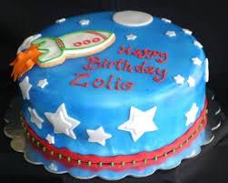 my pink little cake space ship birthday cake
