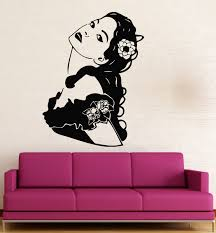 popular hot girl wall paper buy cheap hot girl wall paper lots 2016 new fashion wall stickers vinyl decal hot sexy girl hairstyle dress room decor free shipping
