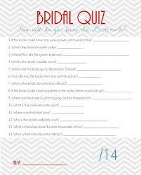 bridal shower question bridal shower questions kallen bridal