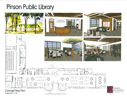 renovations at rock center to add pinson library u2013 the