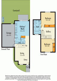 787 Floor Plan by Townhouses For Sale In Noble Park Vic 3174 Realestateview