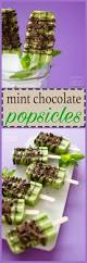 mint chocolate popsicles creamy chocolatey minty and so easy