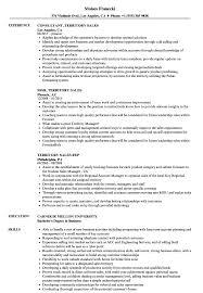 Software Sales Resume Examples Territory Sales Resume Samples Velvet Jobs