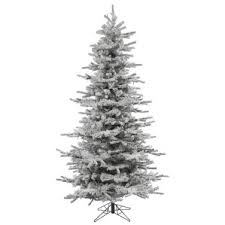 7 5 flocked tree wayfair