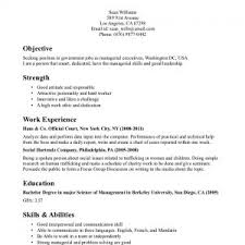 cover letter example of a work resume example of a no work