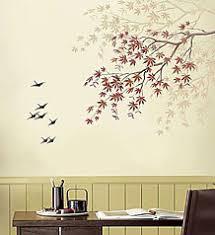 tree stencil stencil designs for easy wall decor wall designs at