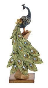 781 best peacock figurine statue images on pinterest figurine