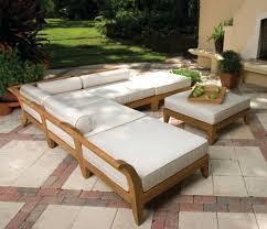 Wood Furnishings Care by Patio Ideas Wood Outdoor Furniture With Cushion Outside Wooden