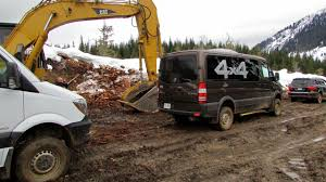 lifted mercedes van putting the 4x4 sprinter to the test truck news