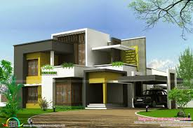 home design consultant 2625 sq ft flat roof box type home kerala home design and floor